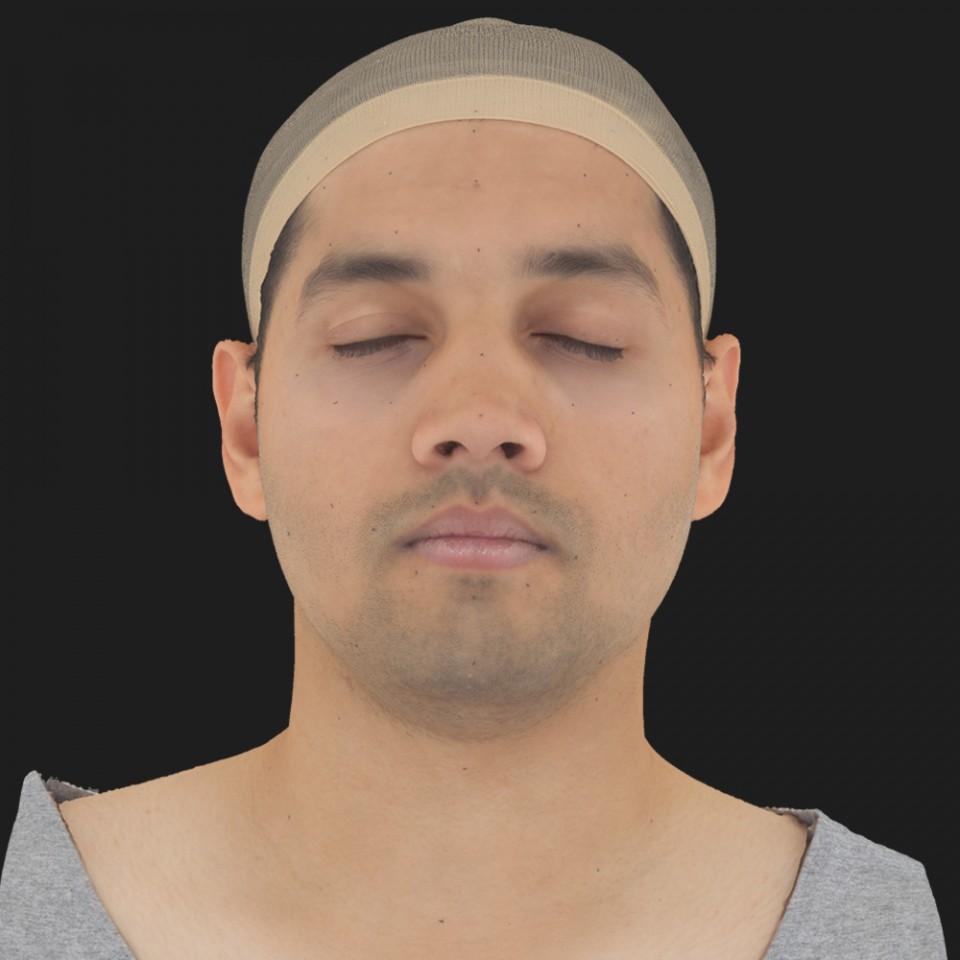 Dave Ansara 02 Neutral-Eyes Closed