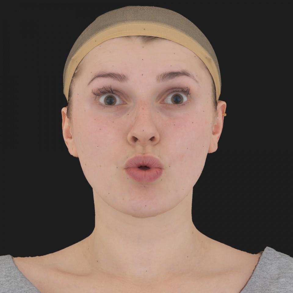 Debi Beaton 11 Phoneme OO-Brow Raise Eyes Open Wide