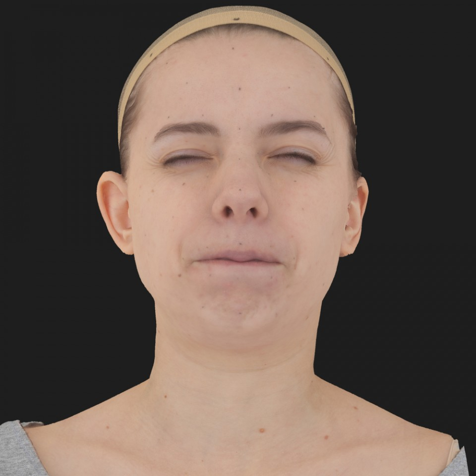 Donna Smith 15 Phoneme Hard FV-Eye Squint
