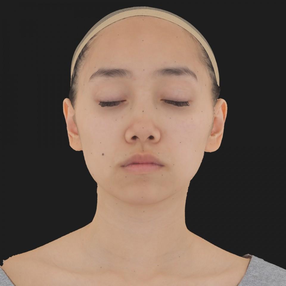Elaine Djou 02 Neutral-Eyes Closed