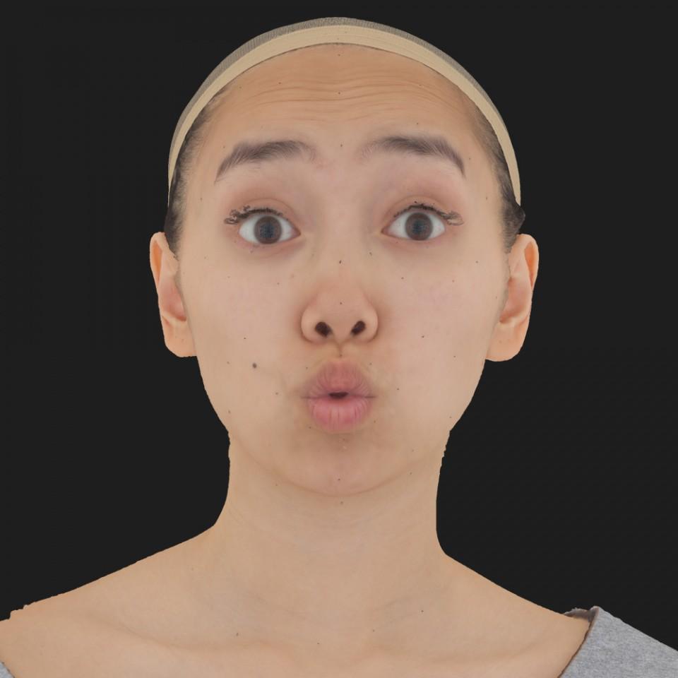 Elaine Djou 11 Phoneme OO-Brow Raise Eyes Open Wide
