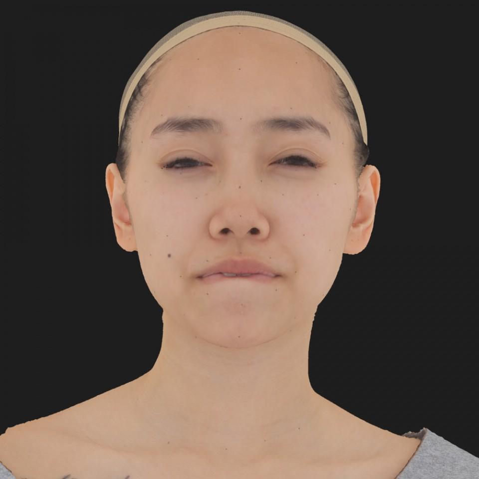 Elaine Djou 15 Phoneme Hard FV-Eye Squint