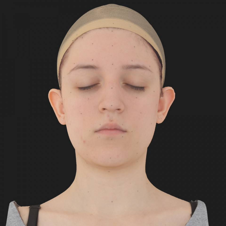 Elaine Lindsey 02 Neutral-Eyes Closed