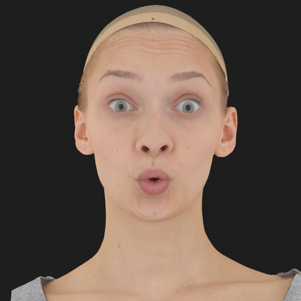 Elisa Duncan 11 Phoneme OO-Brow Raise Eyes Open Wide