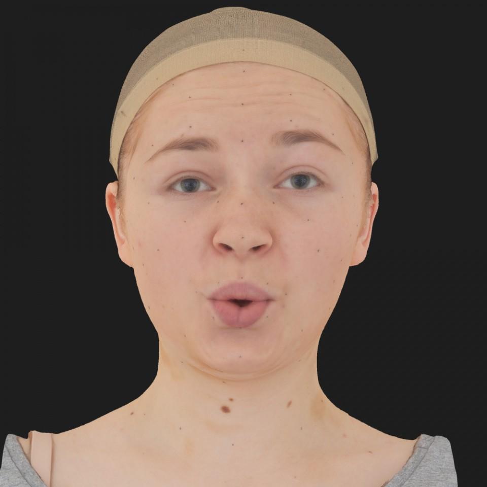 Erica Ross 11 Phoneme OO-Brow Raise Eyes Open Wide