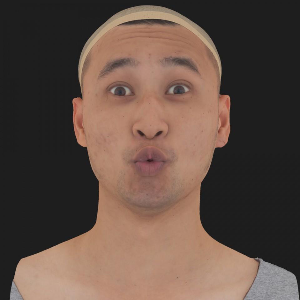 Erik Sato 11 Phoneme OO-Brow Raise Eyes Open Wide