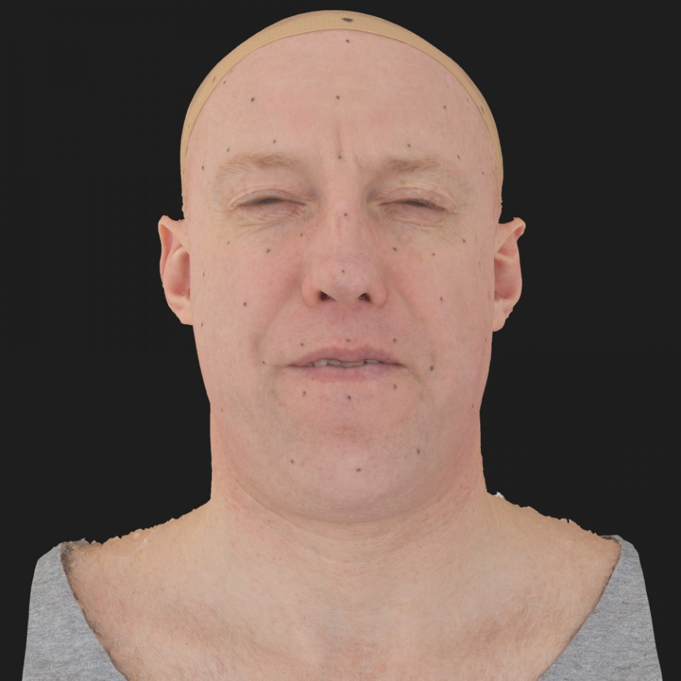 Eugene Murphy 15 Phoneme Hard FV-Eye Squint