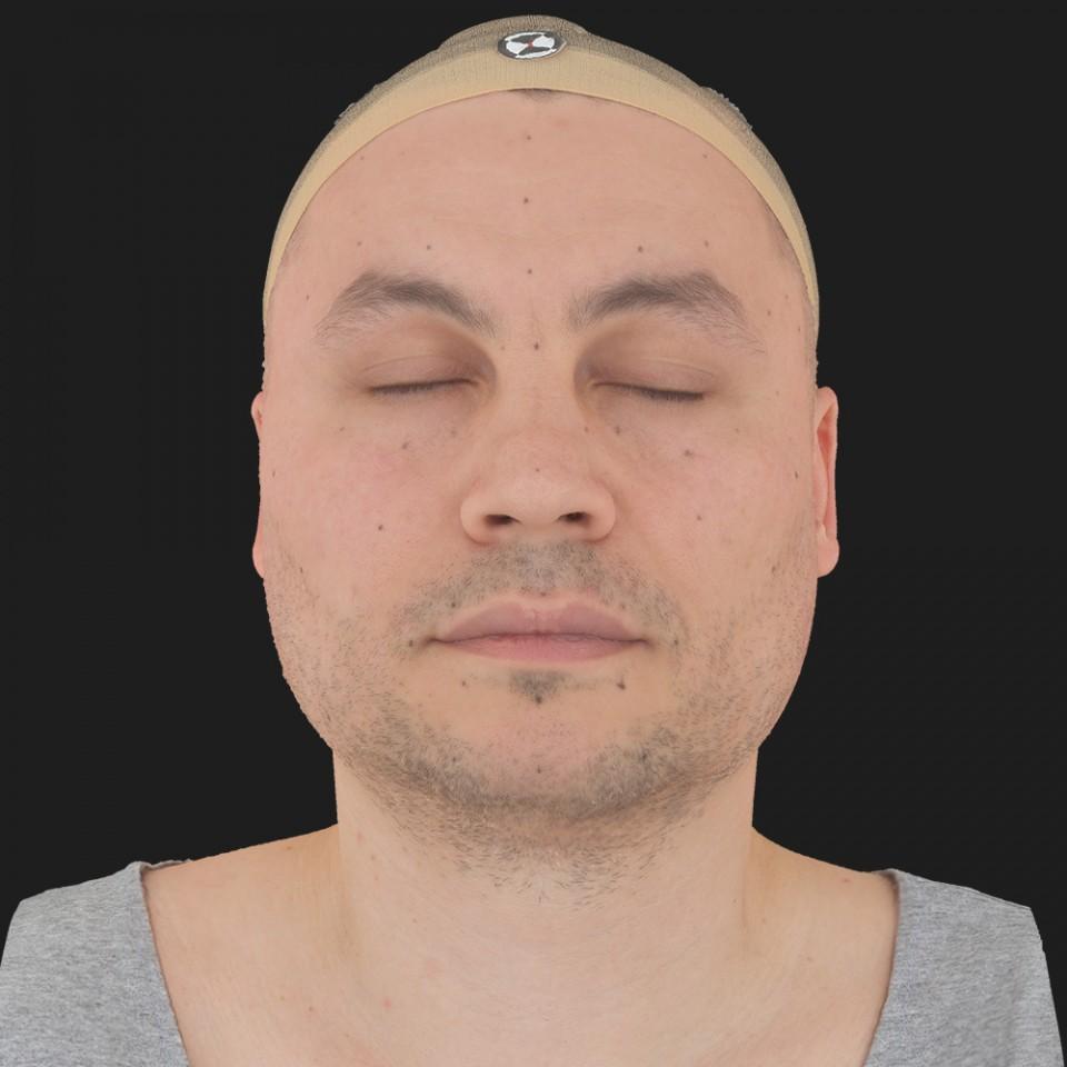 Freddie Fowler 02 Neutral-Eyes Closed