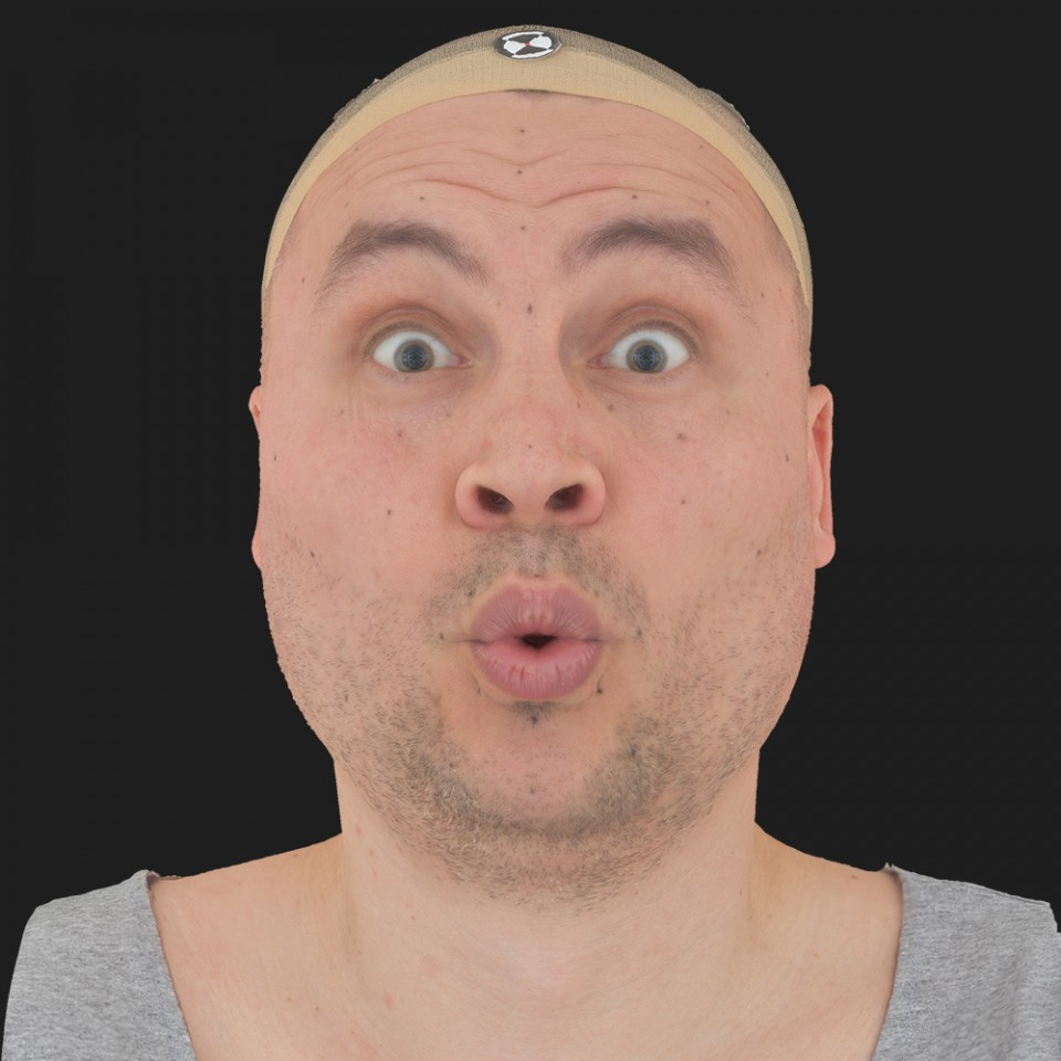 Freddie Fowler 11 Phoneme OO-Brow Raise Eyes Open Wide
