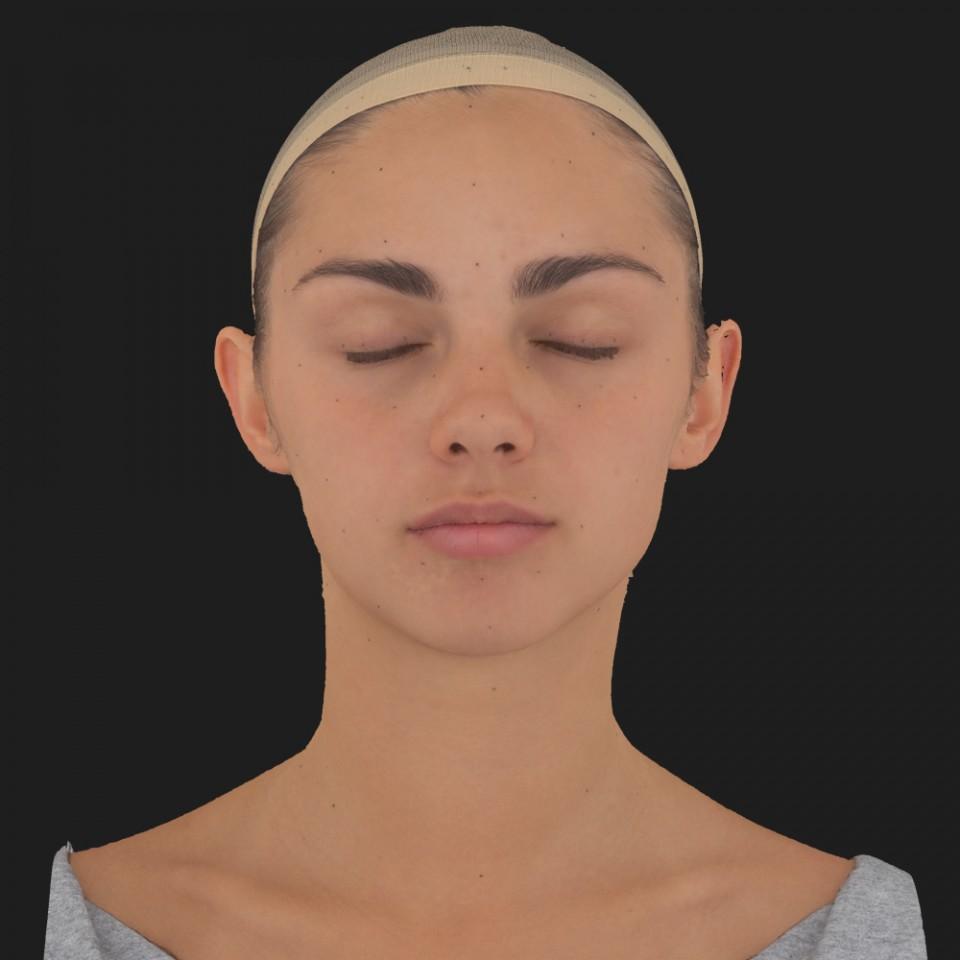 Gabriela Torres 02 Neutral-Eyes Closed