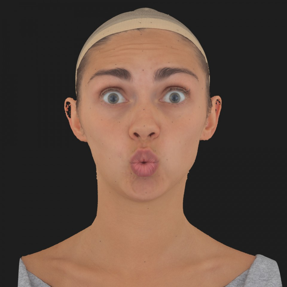 Gabriela Torres 11 Phoneme OO-Brow Raise Eyes Open Wide