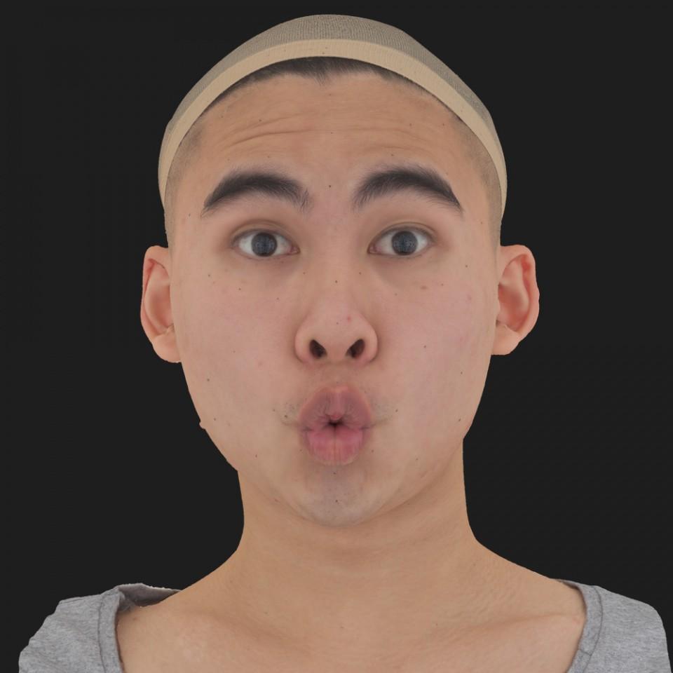 George Chon 11 Phoneme OO-Brow Raise Eyes Open Wide