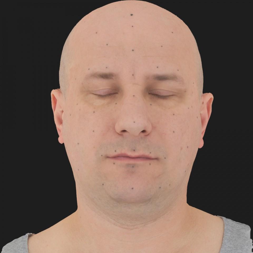 George Richardson 02 Neutral-Eyes Closed