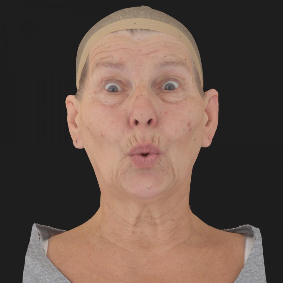 Glenda Jefferson 11 Phoneme OO-Brow Raise Eyes Open Wide