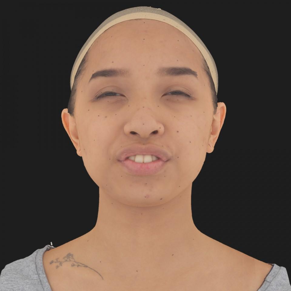 Grace Hwang 15 Phoneme Hard FV-Eye Squint