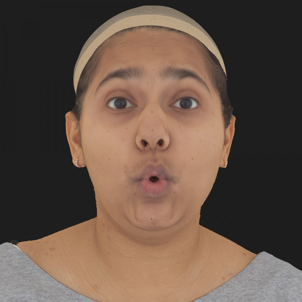 Hadley Kaur 11 Phoneme OO-Brow Raise Eyes Open Wide