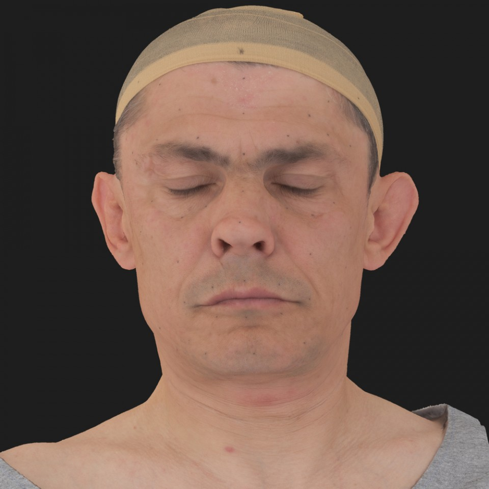 Harold Gray 02 Neutral-Eyes Closed