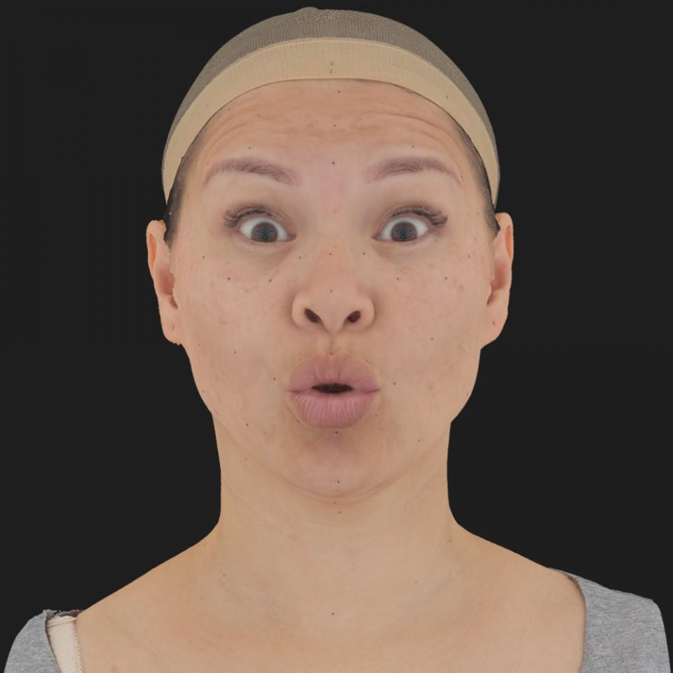 Helen Cho 11 Phoneme OO-Brow Raise Eyes Open Wide