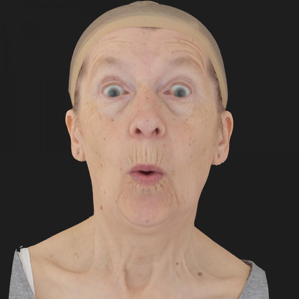 Iris Silva 11 Phoneme OO-Brow Raise Eyes Open Wide