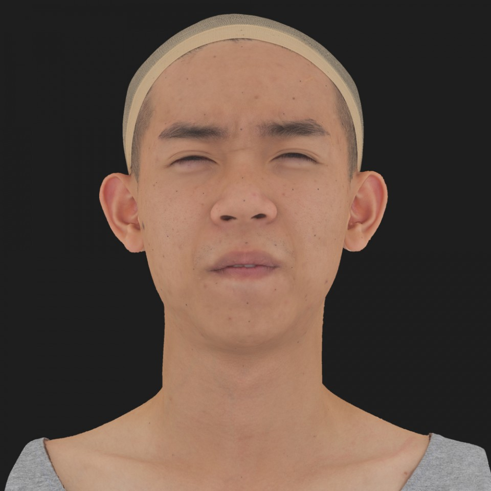 Jack Yien 15 Phoneme Hard FV-Eye Squint