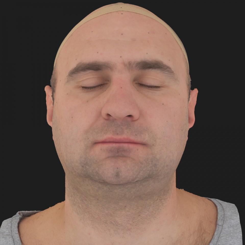James Hernandez 02 Neutral-Eyes Closed