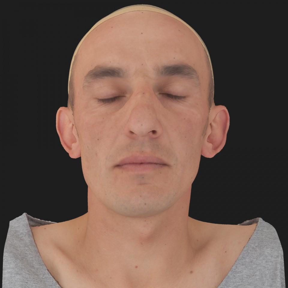 James Mellor 02 Neutral-Eyes Closed