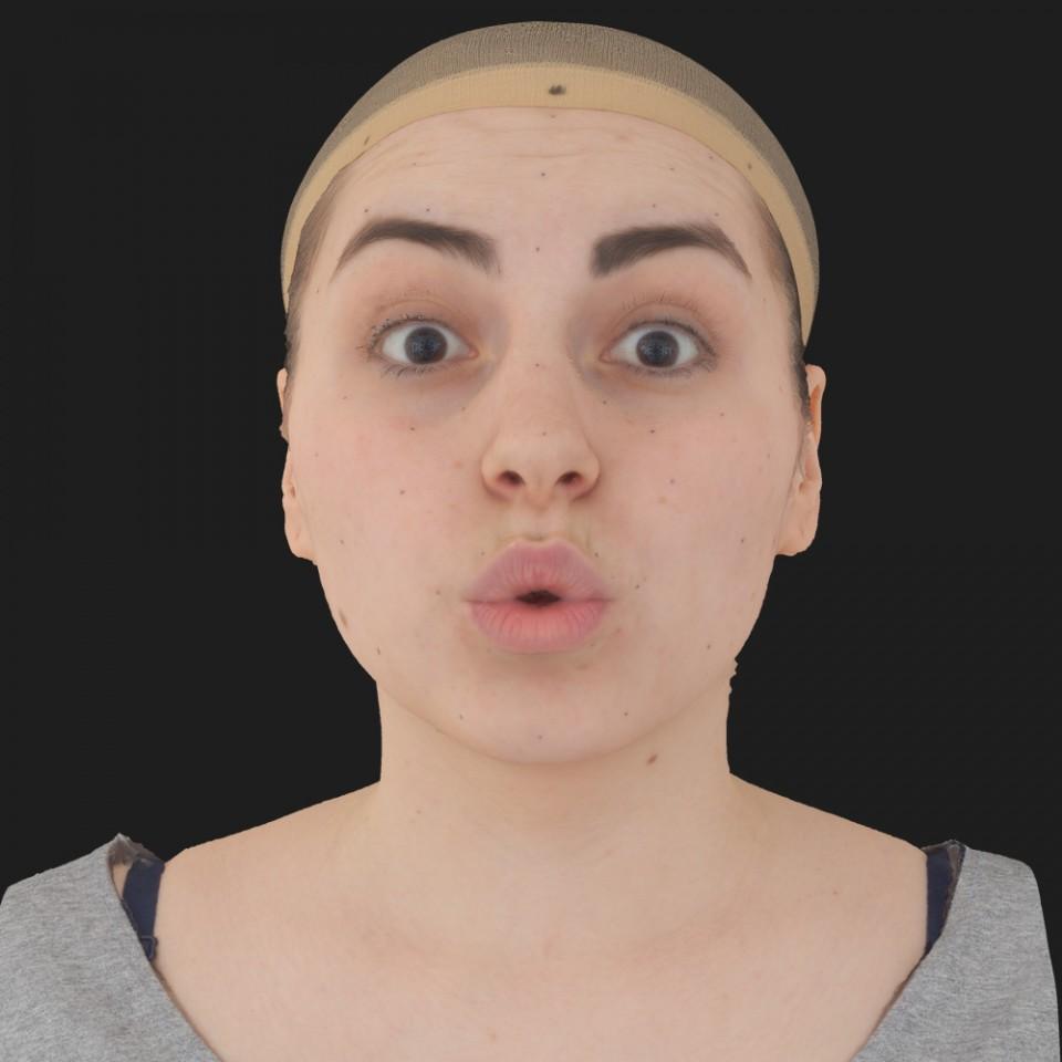 Jennifer Stone 11 Phoneme OO-Brow Raise Eyes Open Wide