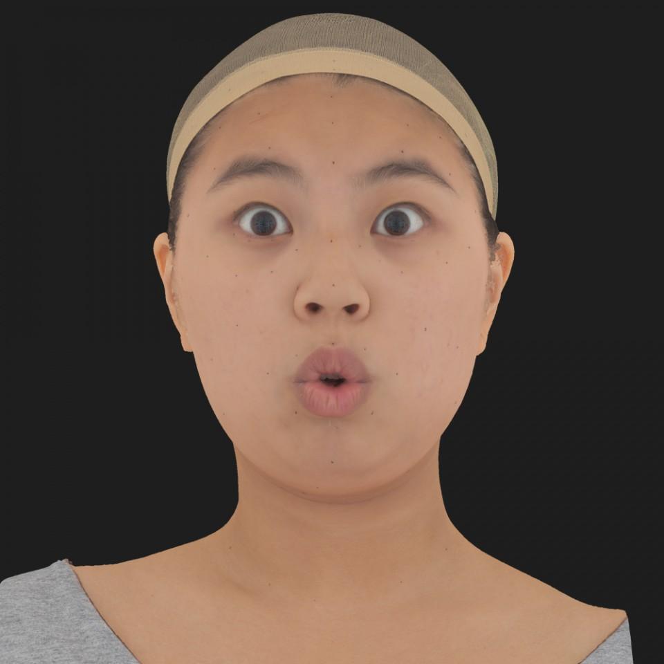 Jenny Tsao 11 Phoneme OO-Brow Raise Eyes Open Wide