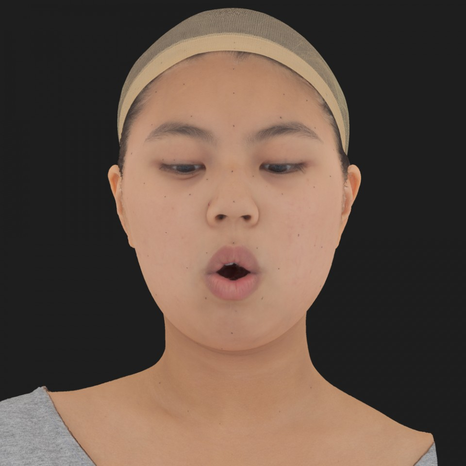 Jenny Tsao 13 Phoneme OH-Look Down