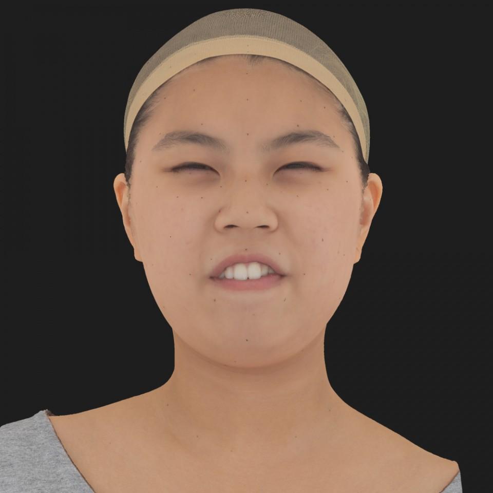 Jenny Tsao 15 Phoneme Hard FV-Eye Squint