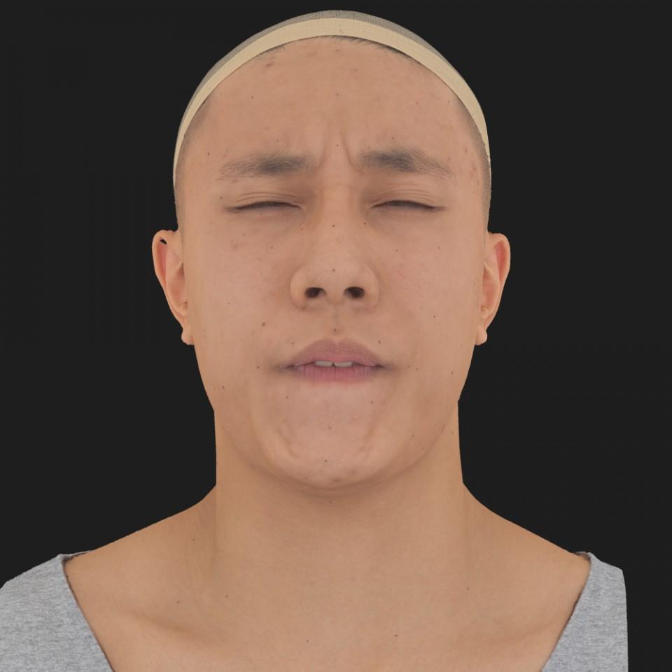 Jeremy Shoji 15 Phoneme Hard FV-Eye Squint