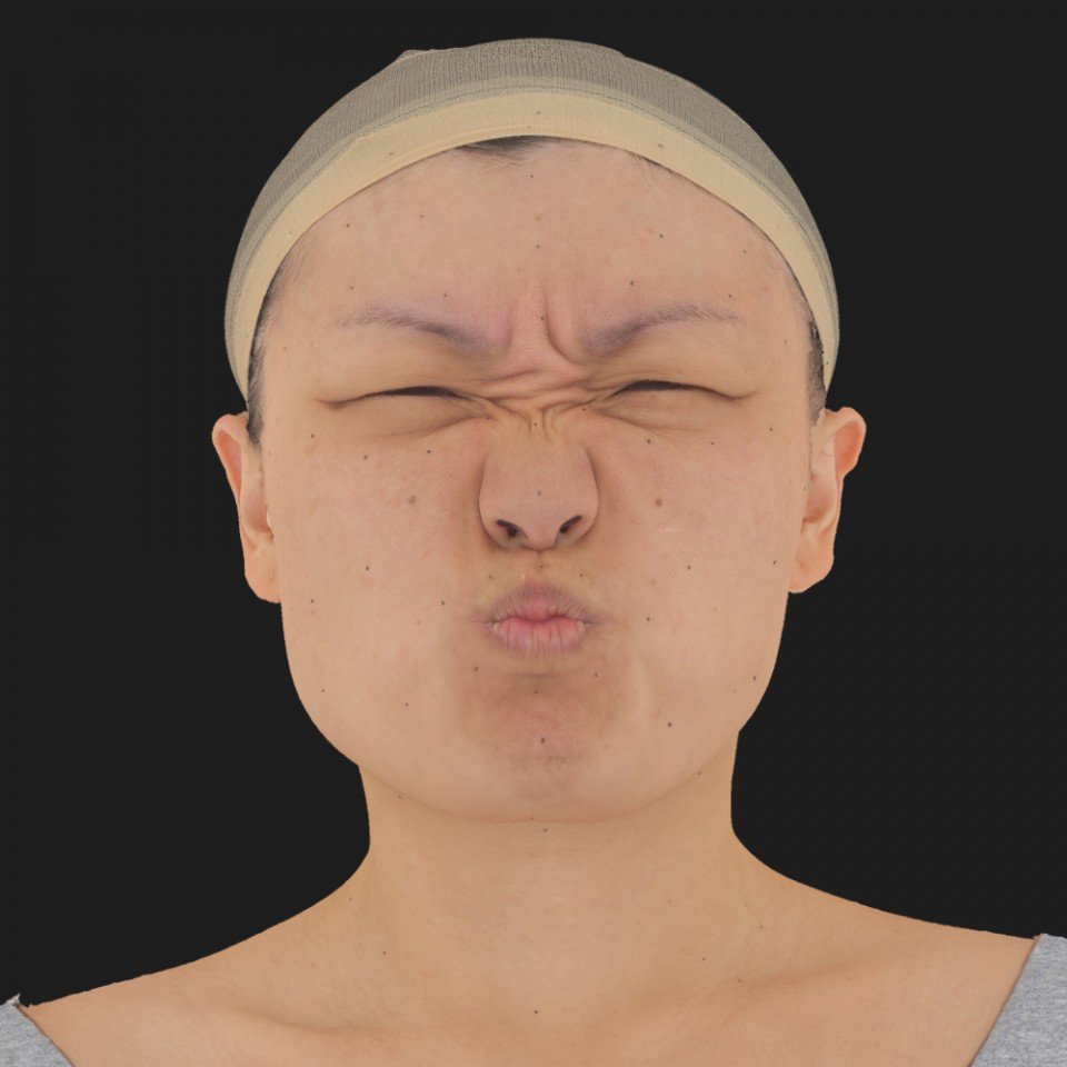 Jessi Chon 06 Face Compression