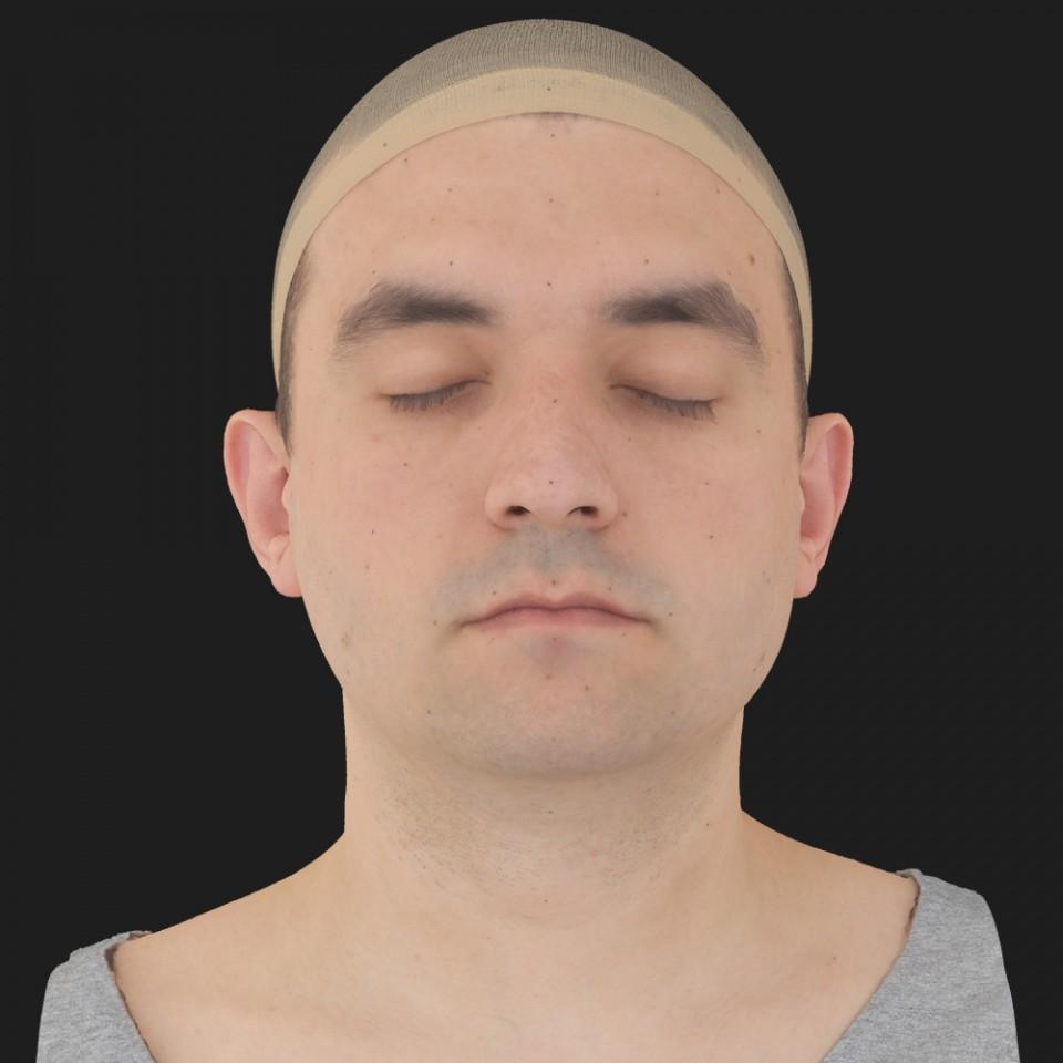 Jim Perkinson 02 Neutral-Eyes Closed