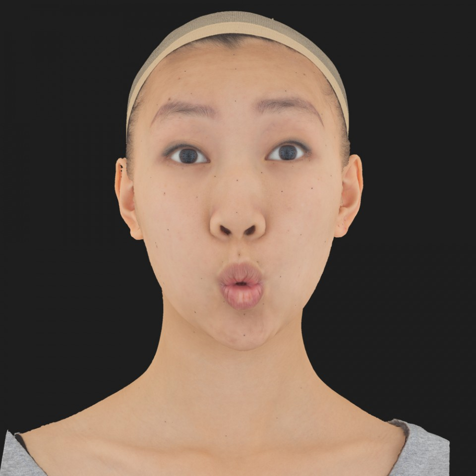 Joanna Ling 11 Phoneme OO-Brow Raise Eyes Open Wide