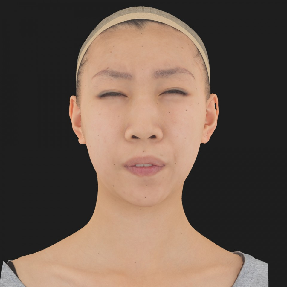 Joanna Ling 15 Phoneme Hard FV-Eye Squint