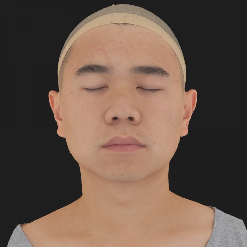 John Tu 02 Neutral-Eyes Closed