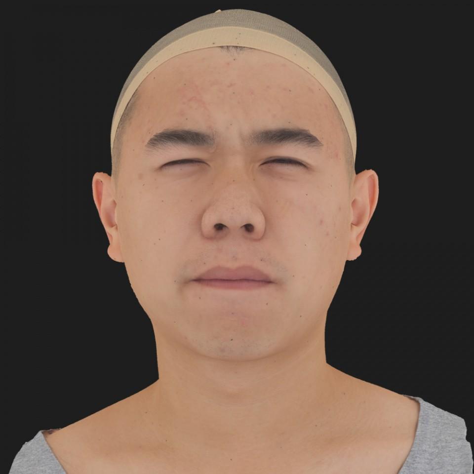 John Tu 15 Phoneme Hard FV-Eye Squint
