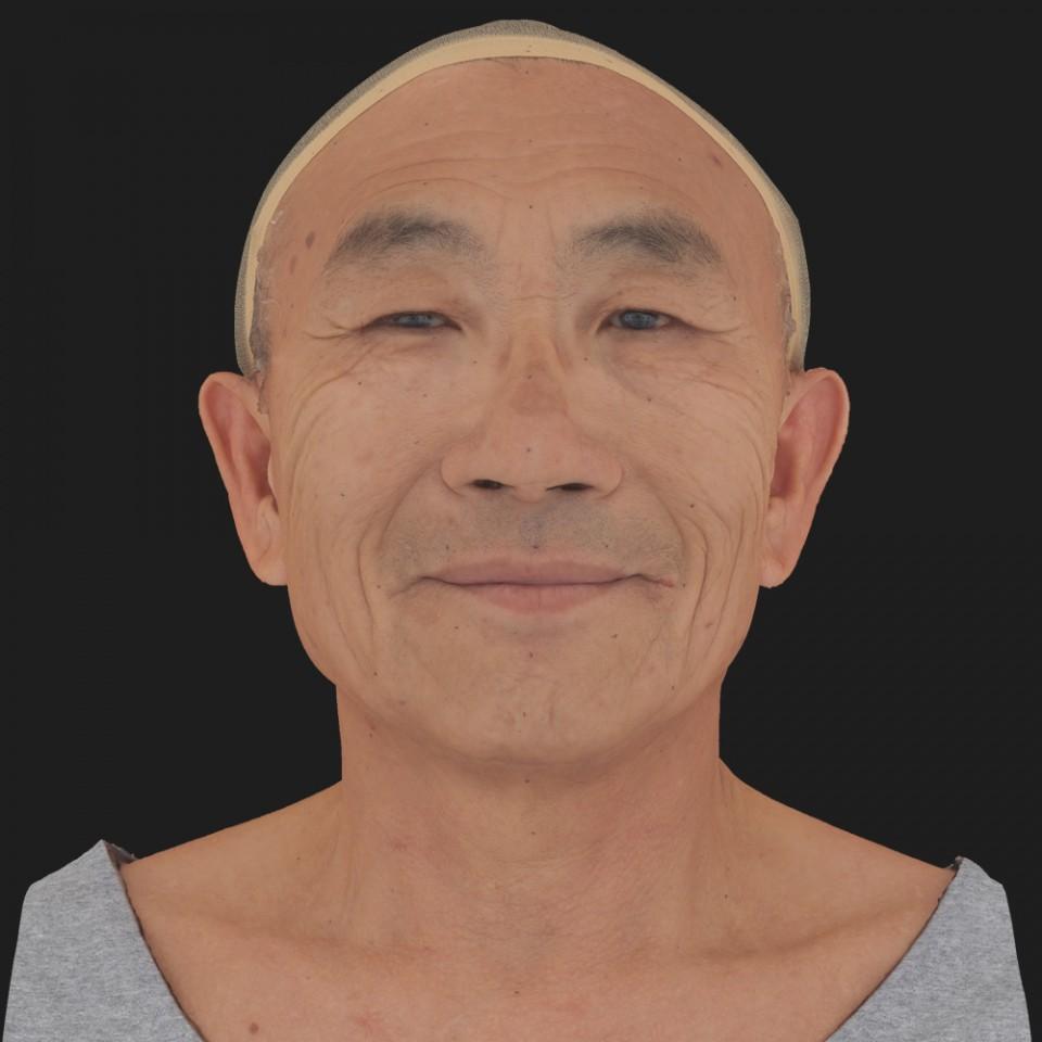 Joseph Fujikawa 03 Smile-Mouth Closed
