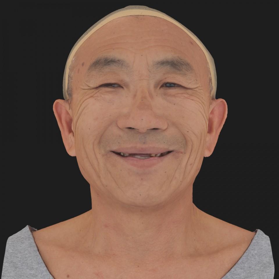Joseph Fujikawa 04 Smile-Mouth Open