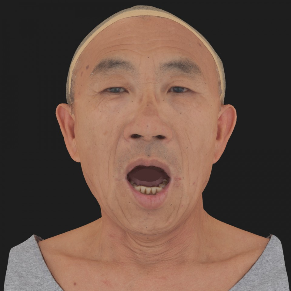 Joseph Fujikawa 05 Jaw Open