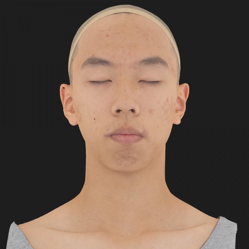 Juan Hsu 02 Neutral-Eyes Closed