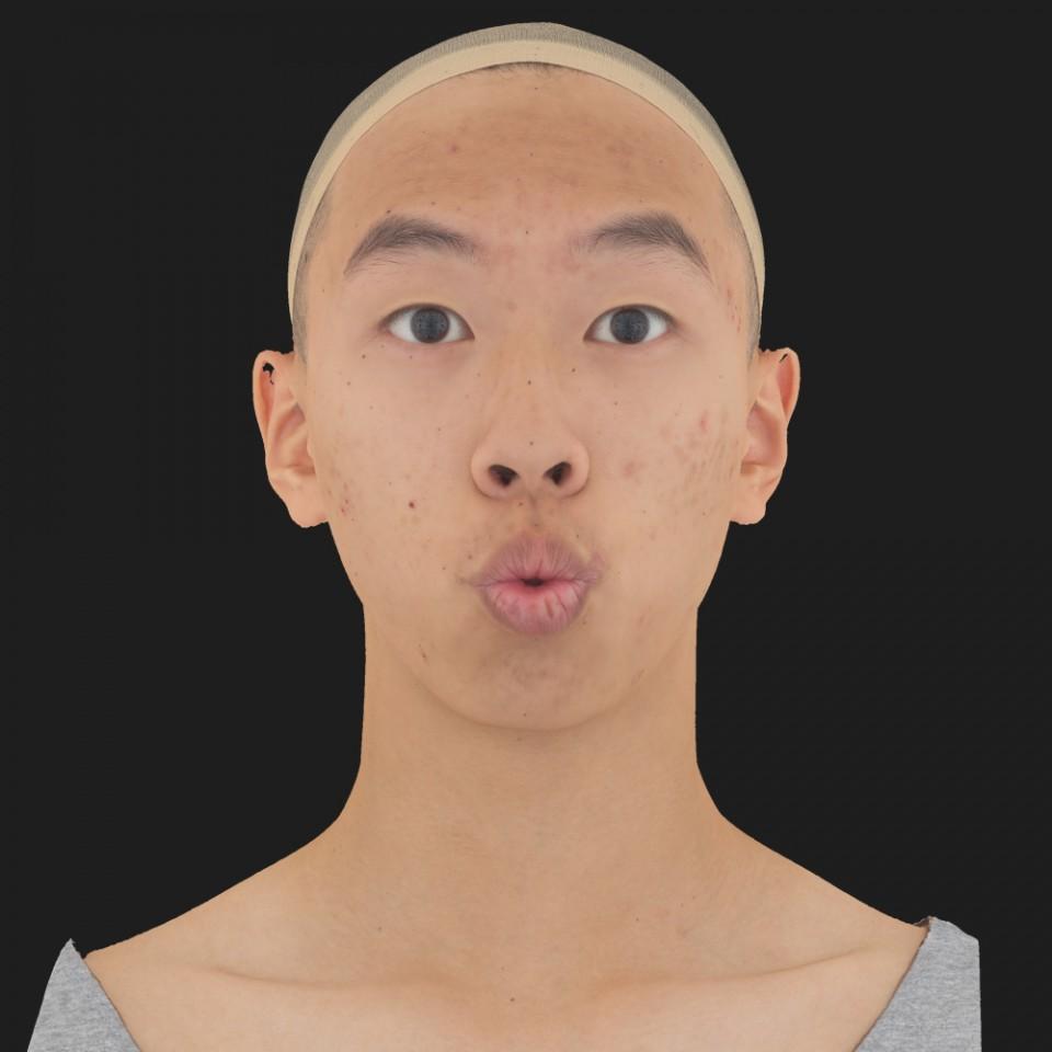 Juan Hsu 11 Phoneme OO-Brow Raise Eyes Open Wide