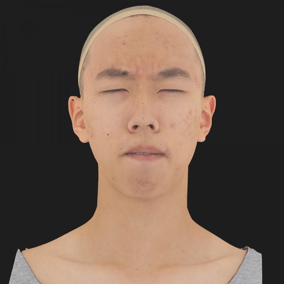 Juan Hsu 15 Phoneme Hard FV-Eye Squint