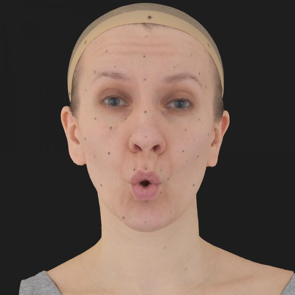 Judy Allen 11 Phoneme OO-Brow Raise Eyes Open Wide