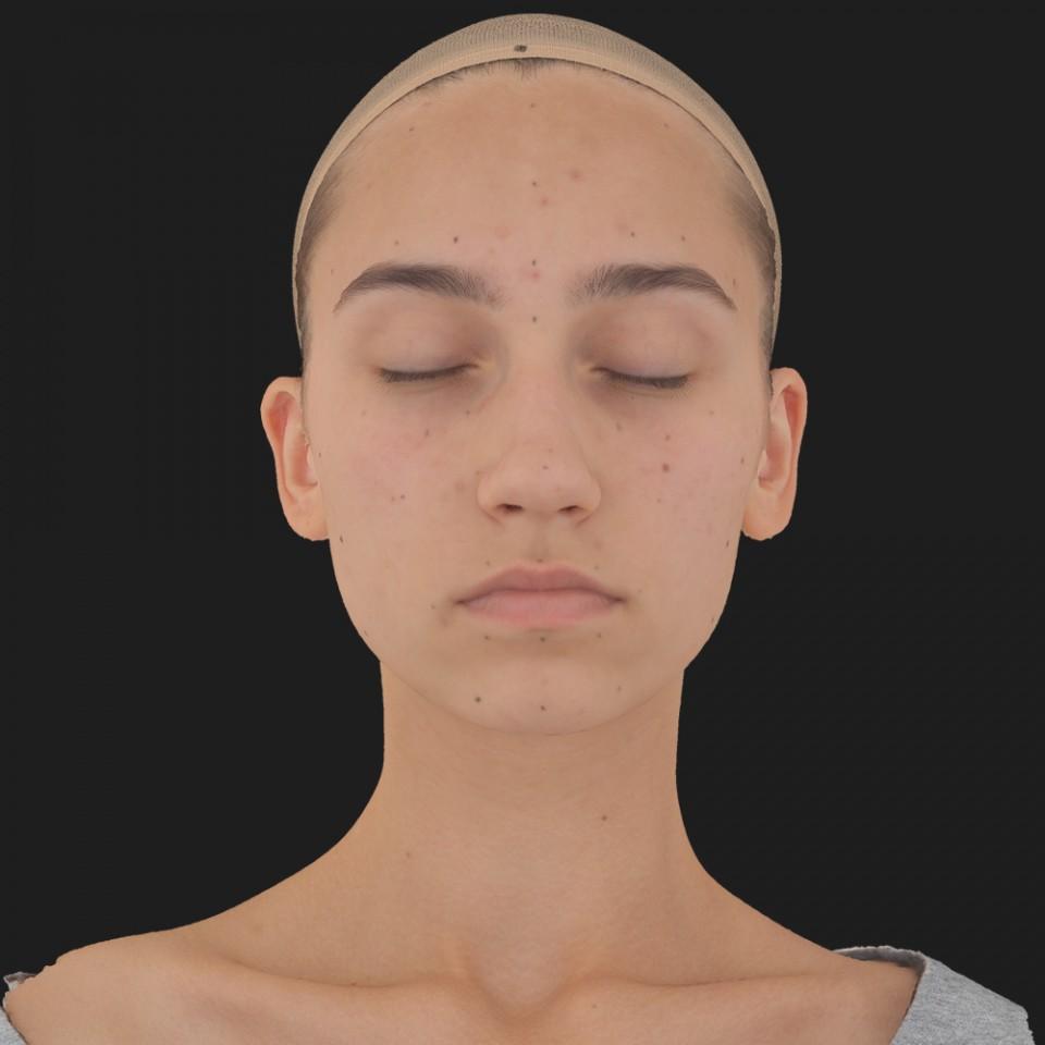Julia Sanders 02 Neutral-Eyes Closed