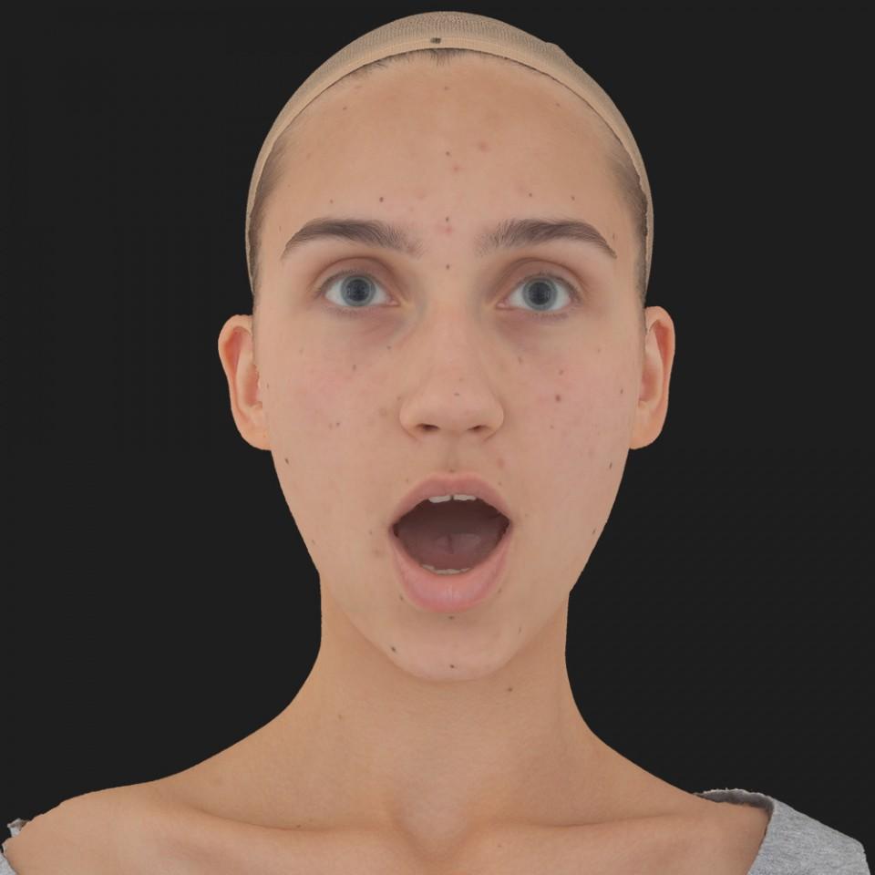 Julia Sanders 05 Jaw Open
