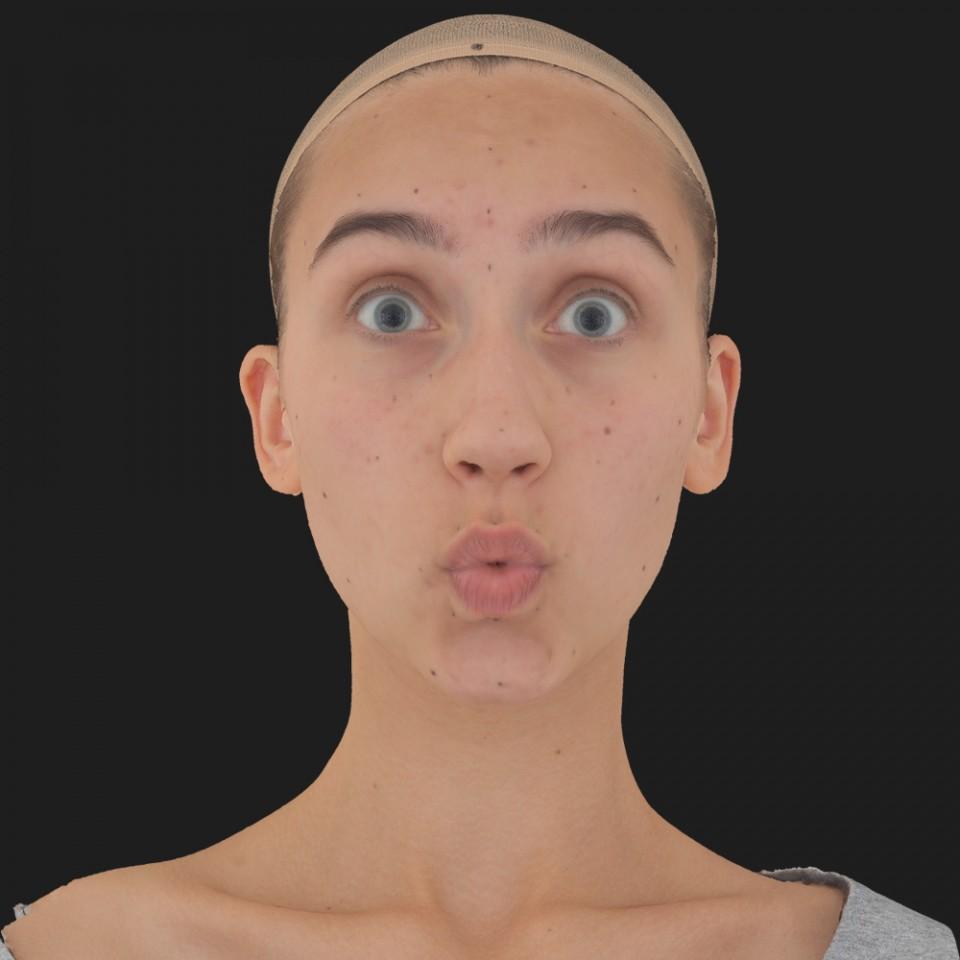 Julia Sanders 11 Phoneme OO-Brow Raise Eyes Open Wide