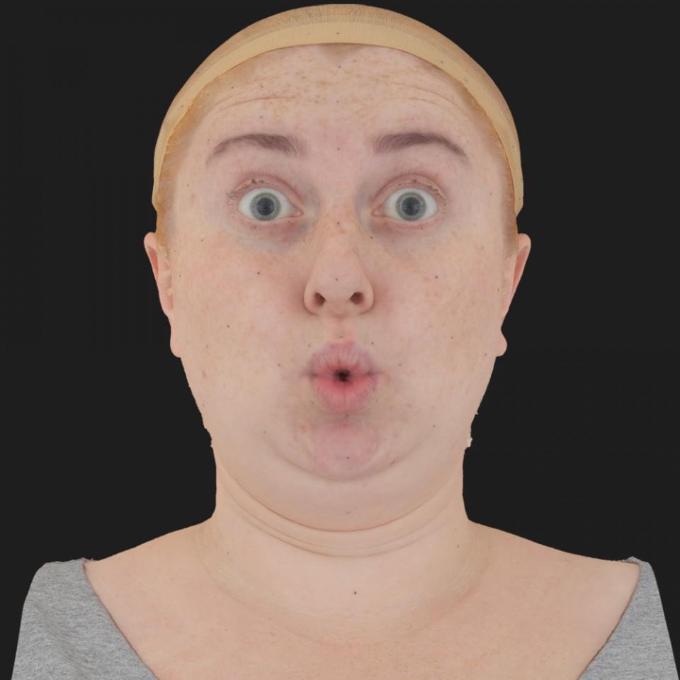 Julie Duck 11 Phoneme OO-Brow Raise Eyes Open Wide