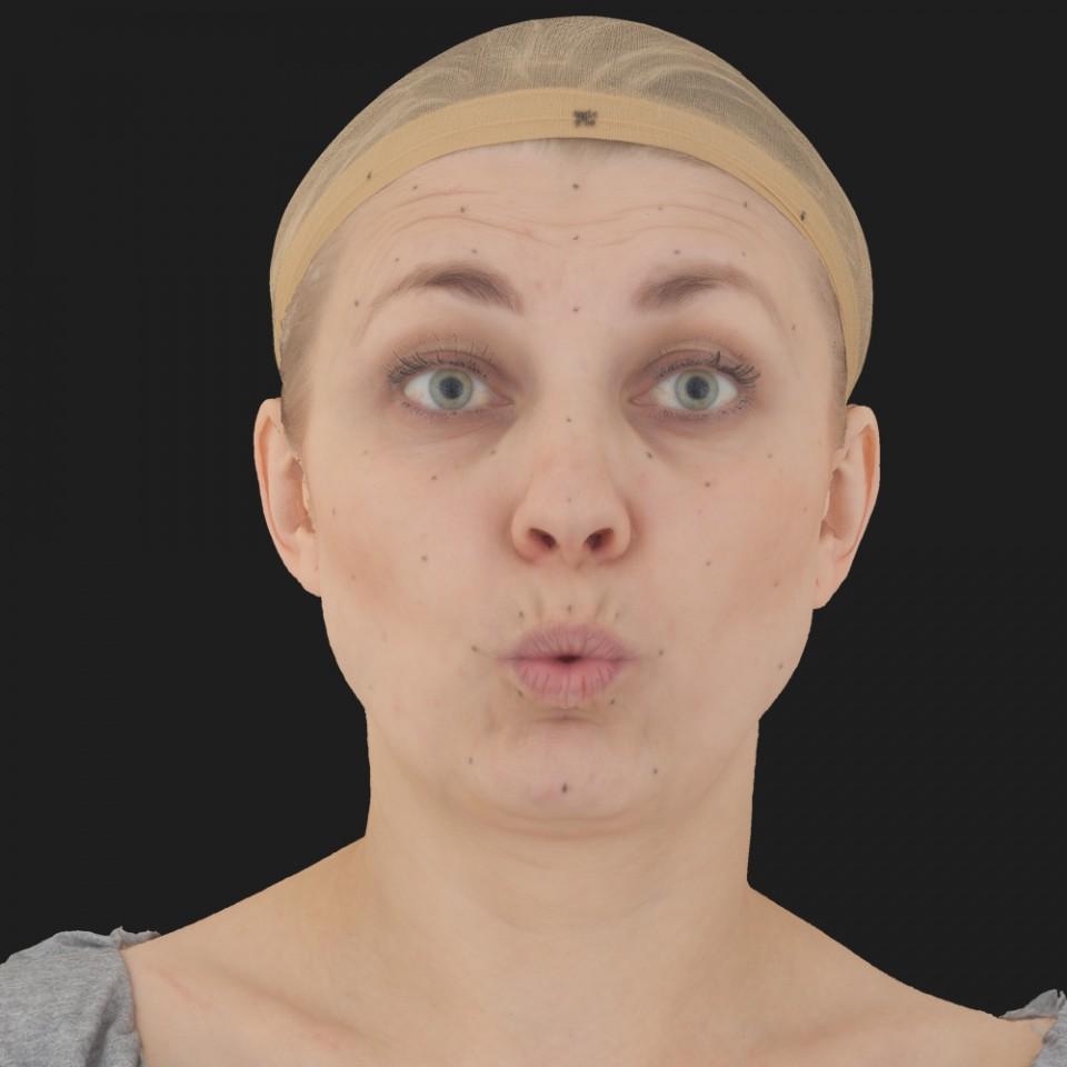Karen Bennet 11 Phoneme OO-Brow Raise Eyes Open Wide
