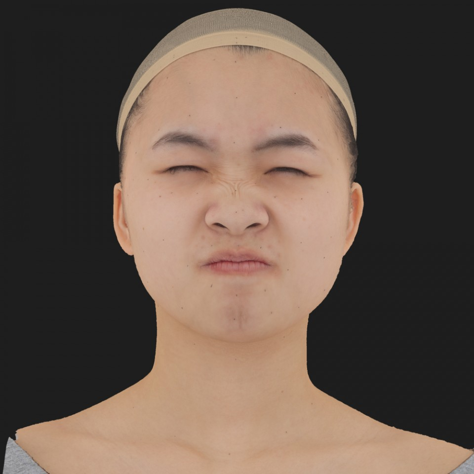 Kaylee Kanegai 06 Face Compression